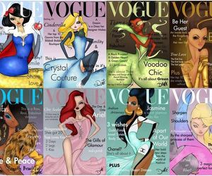 cover, vogue, and disney image
