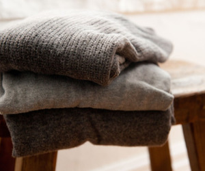 sweater, grey, and photography image