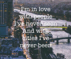 love, city, and people image