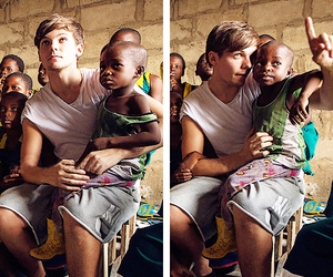 louis tomlinson, one direction, and africa image