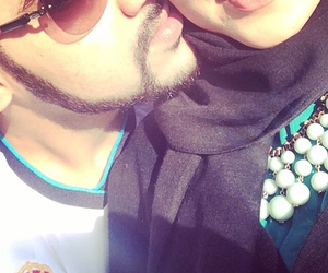 couple, muslim, and love image