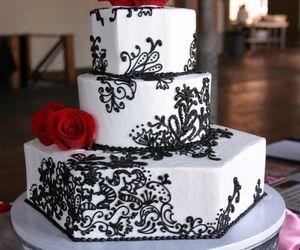 wedding cake and cake image