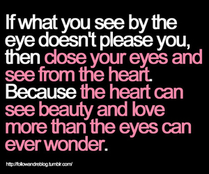 quotes, heart, and beauty image