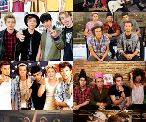 1d, 5sos, and one direction image