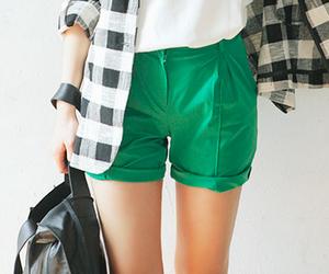 asian fashion, womens, and womens shorts image