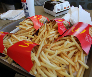 food, McDonalds, and love image
