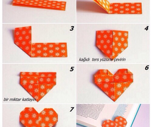 heart, diy, and book image