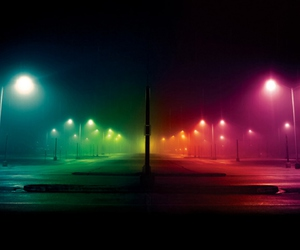 light, night, and colors image