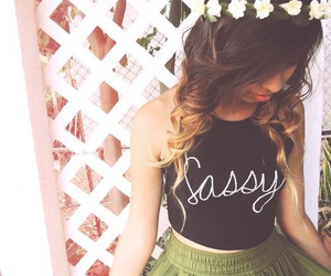 sassy, fashion, and outfit image