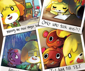 animal crossing, fan art, and new leaf image