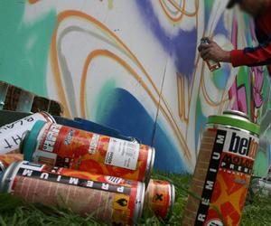 graffiti, molotow, and sprey paint image