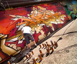 graffiti, summer, and molotow image
