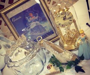 cinderella, disney, and glass slipper image
