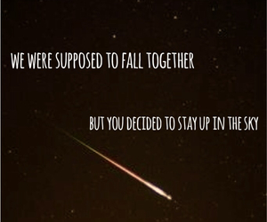 broken, fall, and heartbreak image