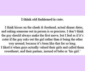 love and old fashioned image