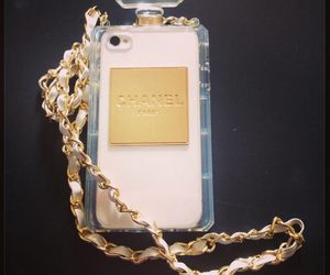 bottle, case, and chanel image