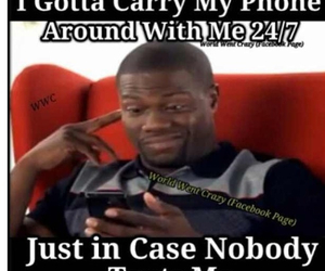 phone, text, and kevin hart image