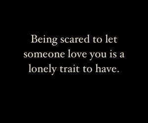 lonely and quote image