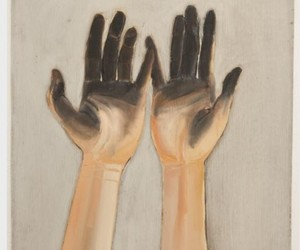 hands, illustration, and painting image