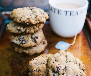 tea, Cookies, and food image