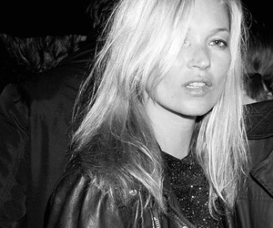 blonde and kate moss image