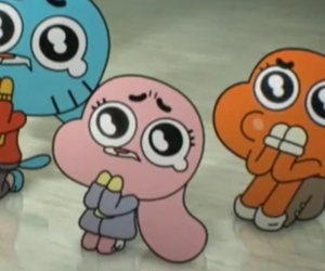 anime, cartoon, and gumball image
