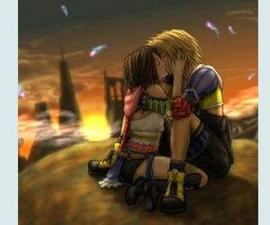kiss, ruins, and final fantasy x-2 image