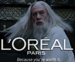 funny, loreal, and hair image