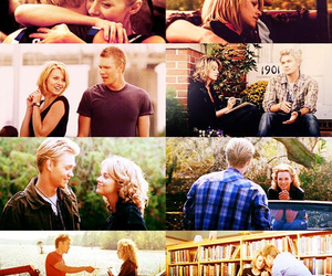 chad michael murray, Hilarie Burton, and lucas scott image