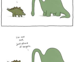dinosaur, funny, and dino image
