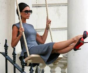 victoria beckham, style, and dress image