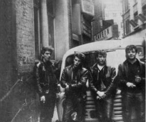 the beatles, george harrison, and john lennon image