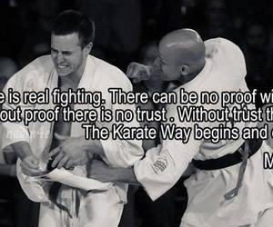karate, quote, and kyokushin image