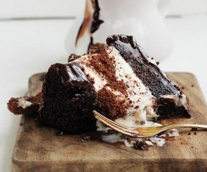 cake, food, and chocolate image