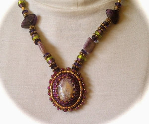 jewelry, gift for women, and one of a kind necklace image