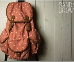 backpack, bag, and lovely image