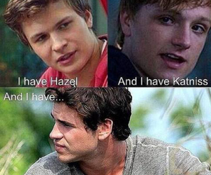 hunger games, peeta, and tfios image