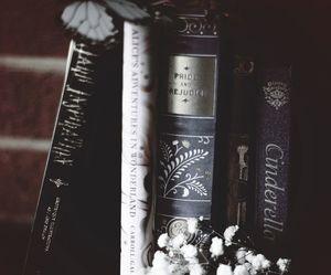 book, bookworm, and cinderella image