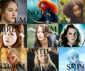harry potter, frozen, and hunger games image