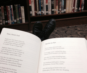 books, ellen hopkins, and library image