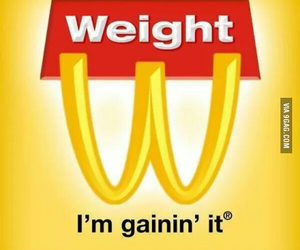 funny, food, and weight image