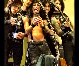black veil brides, bvb, and cc image