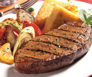 food, steak, and yummy image