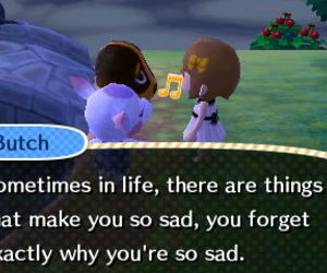 animal crossing and quote image