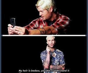 badass, blonde hair, and guys image