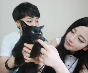 couple, asian, and cute image