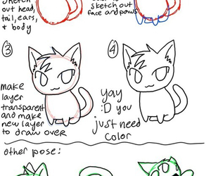 cat, draw, and how to draw image