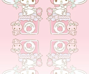 kitty, my melody, and cute image