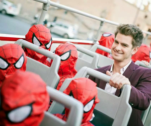 actors, adorable, and spiderman image