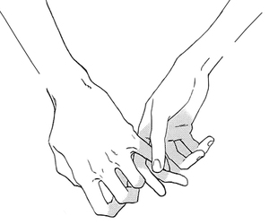 bone, boy, and holding hands image